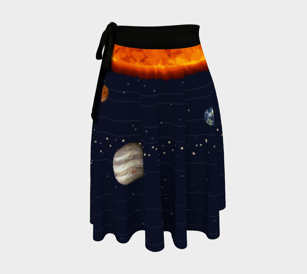 Image of Solar System Wrap Skirt
