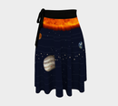 Image 1 of Solar System Wrap Skirt