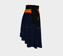 Image 4 of Solar System Wrap Skirt