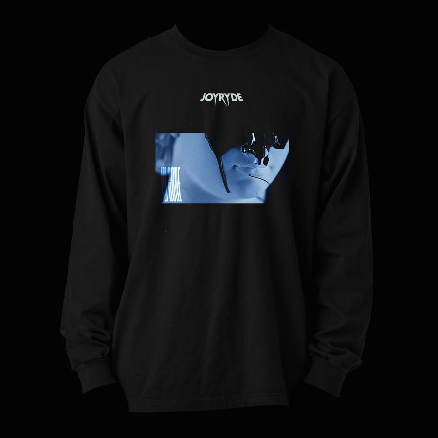 Image of BLUE DRIP LONG SLEEVE