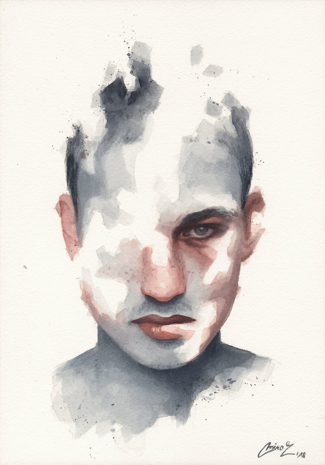 Image of Small Watercolor #12