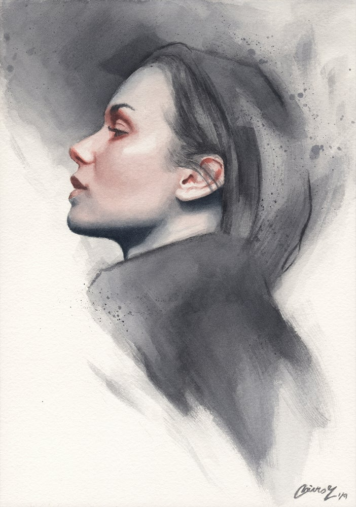 Image of Small Watercolor #17