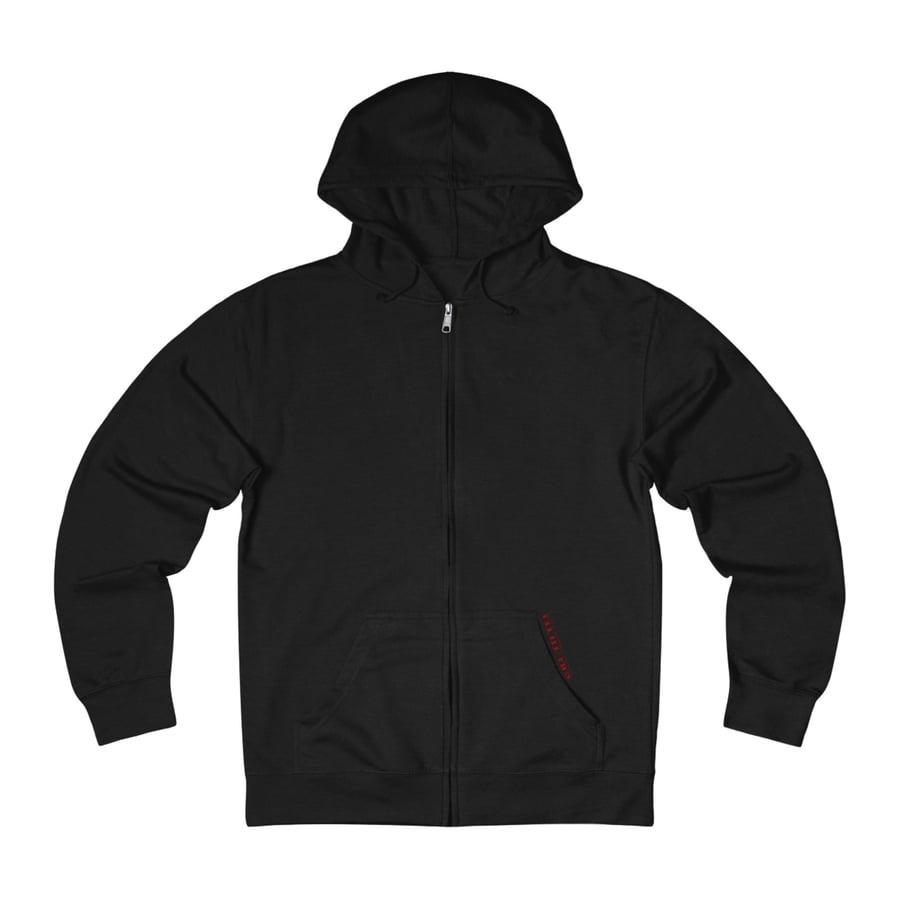 Image of Weeping Zip-Up Sweatshirt