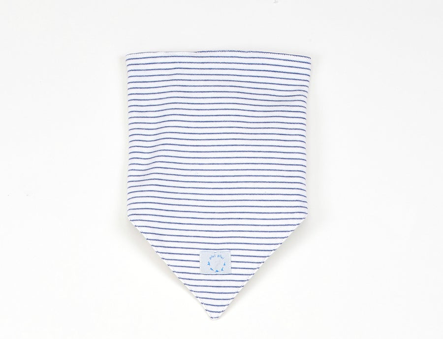 Image of Tuch blau gestreift Art.818228