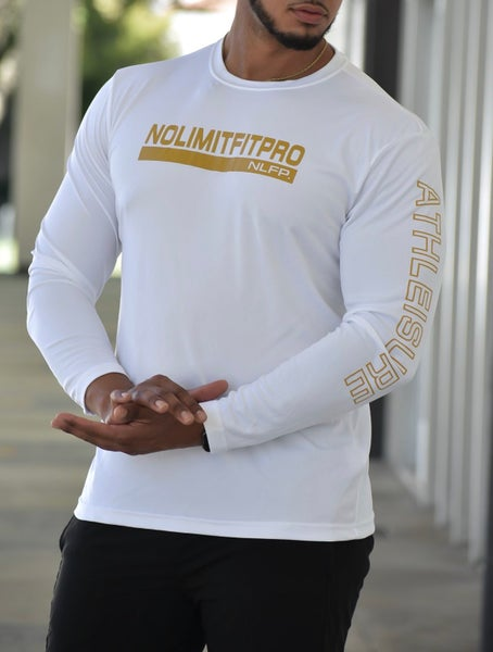 Image of ATHLEISURE LONG SLEEVE WHITE