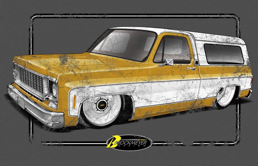 Image of Squarebody distressed
