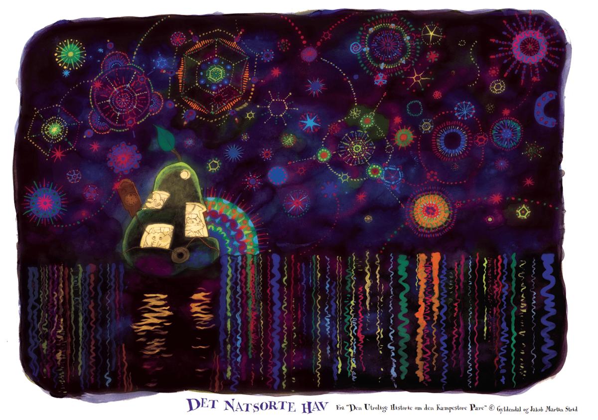 Image of DET NATSORTE HAV · Plakat