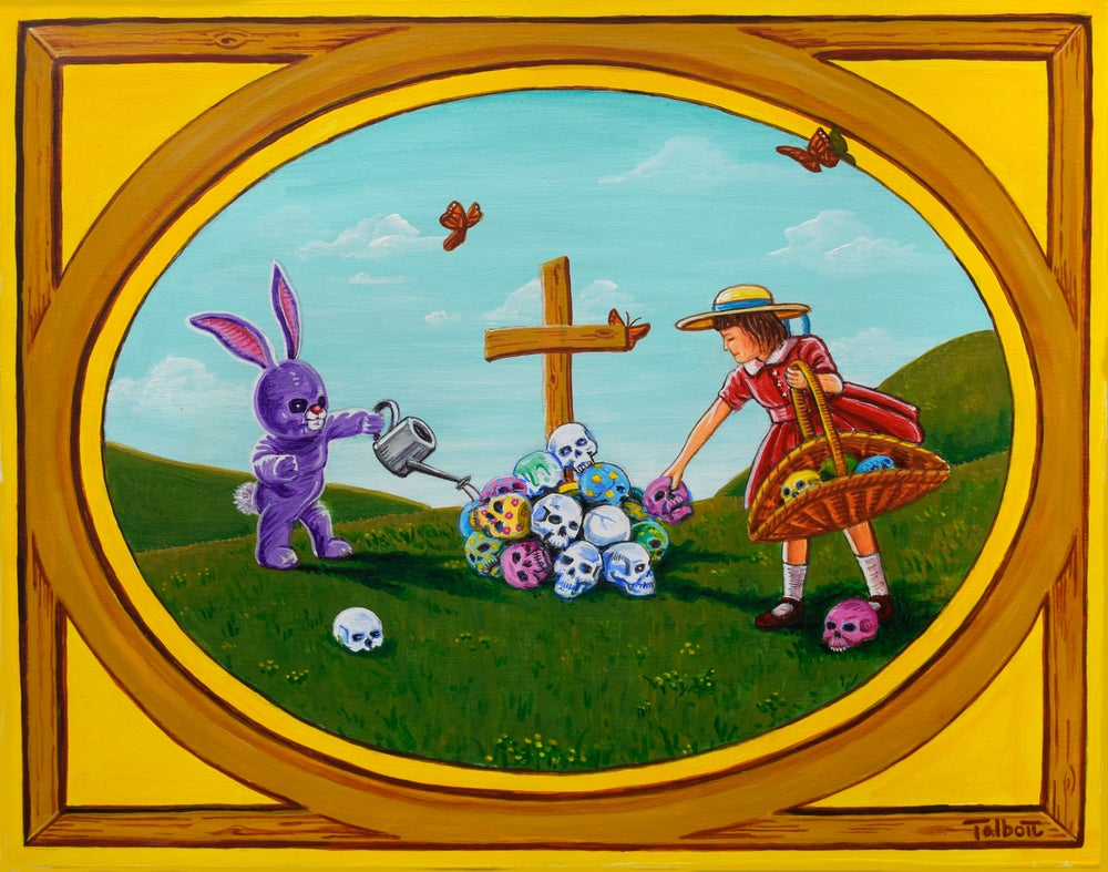 "Image of ""Easter Mass"" signed giclee print"