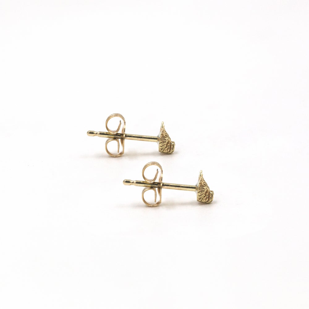 Ralphy the Westie Studs- 14K Gold