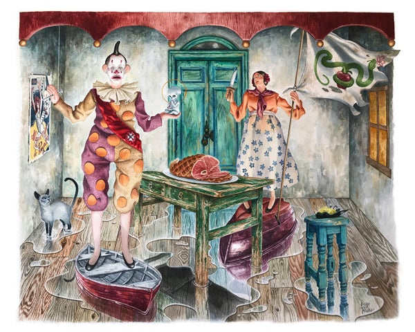 Image of Reino de Payaso (Clown Kingdom) Print
