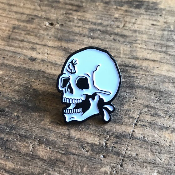 Image of Etched Enamel Pin