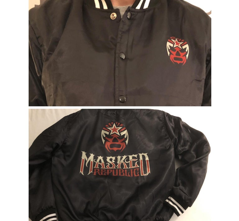 Image of Masked Republic Baseball Jacket
