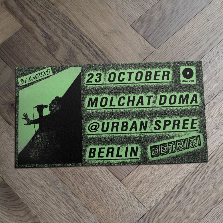 Image of Molchat Doma + Words and actions • Berlin 23 Oct