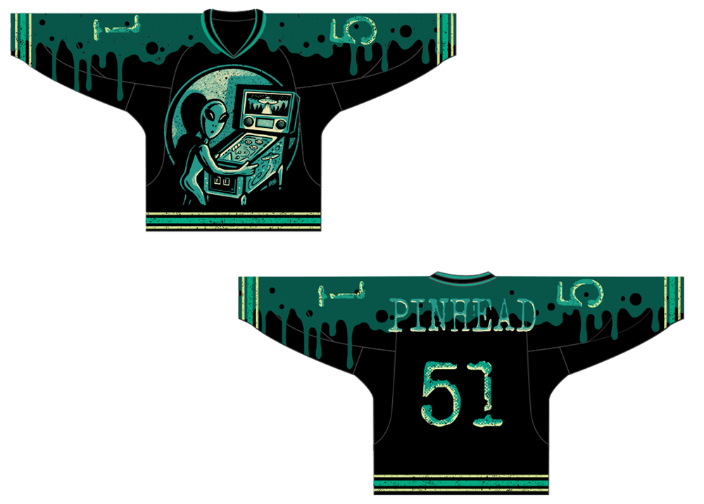 Image of Collection 2 | J.01 | Alien Hockey Jersey
