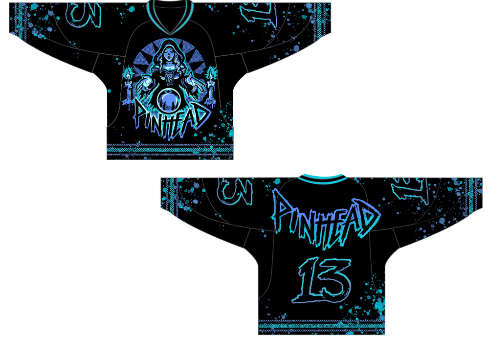 Collection 2 | J.03 | Pinball Witch Hockey Jersey