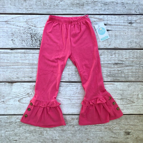 Image of Pink Knit Ruffles