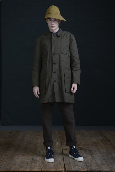 Image of PILOT COAT KHAKI £470.00
