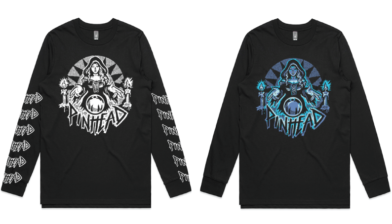 Image of Collection 2 | LS. 03 | Pinball Witch Long Sleeve Shirt (2 Varieties)