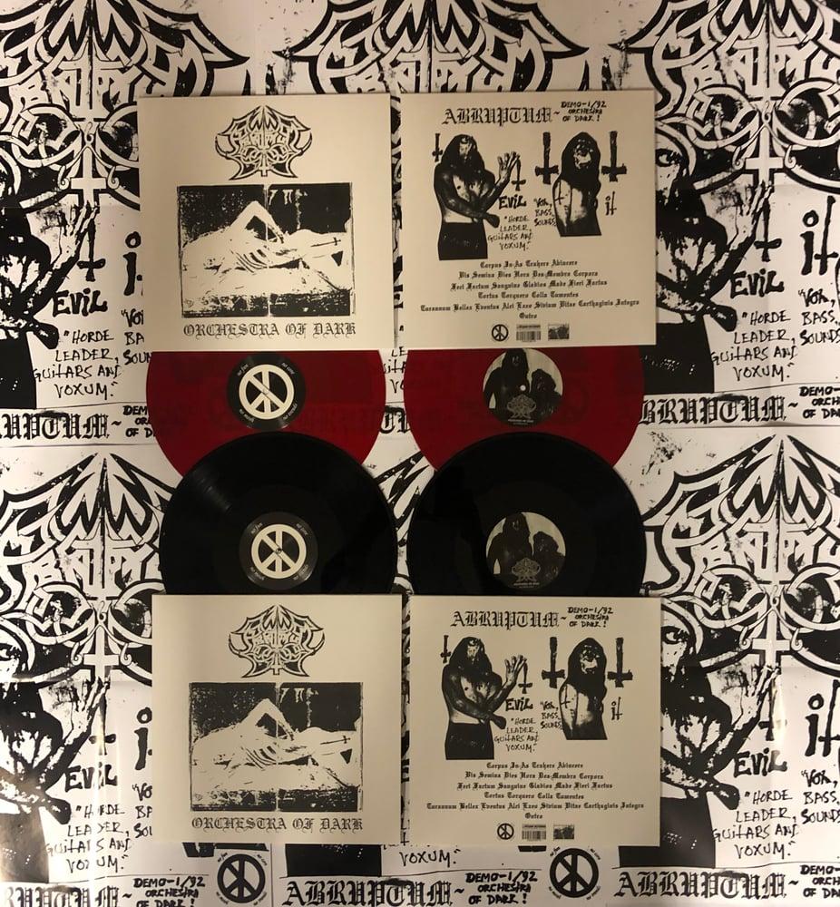 Image of Abruptum - Orchestra Of Dark LP