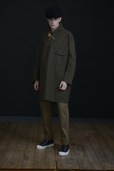 Image of MENAI TOGGLE TOP - Khaki £250.00