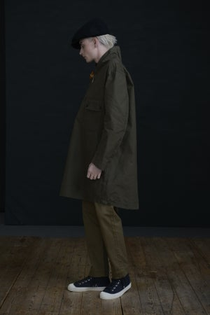 Image of MENAI TOGGLE TOP - Khaki £250.00