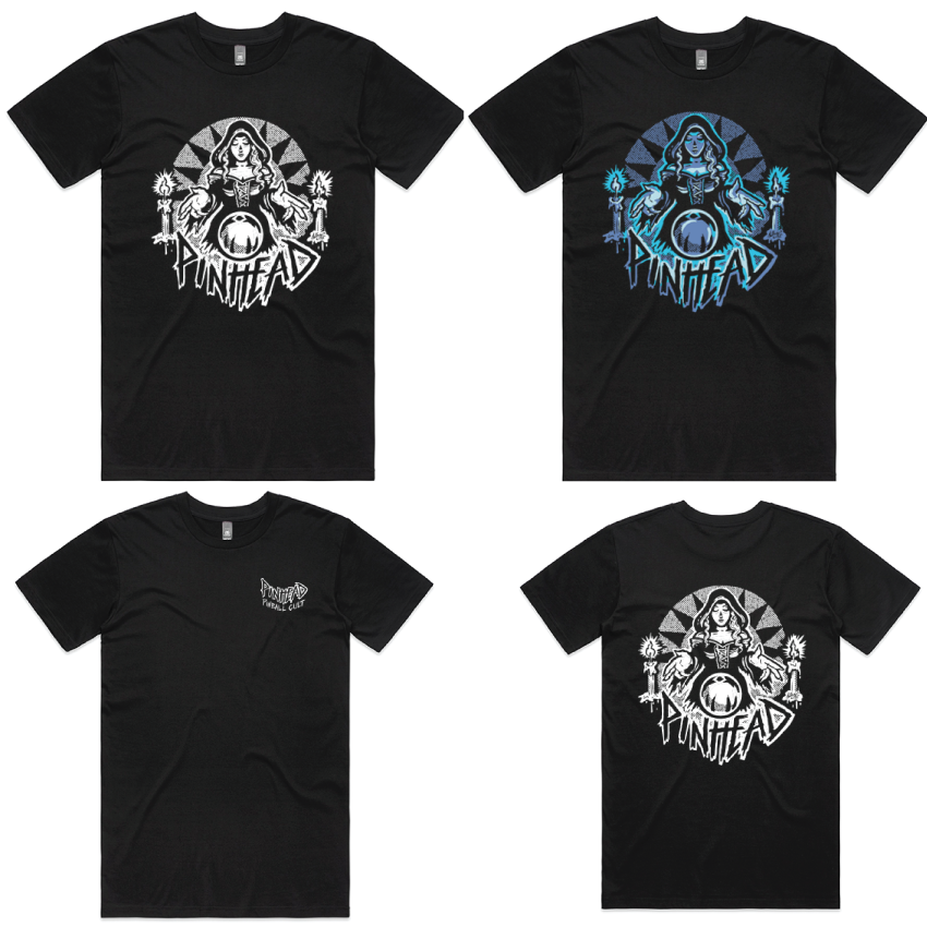 Collection 2   LE.03   Pinball Witch Tee (3 Varieties)