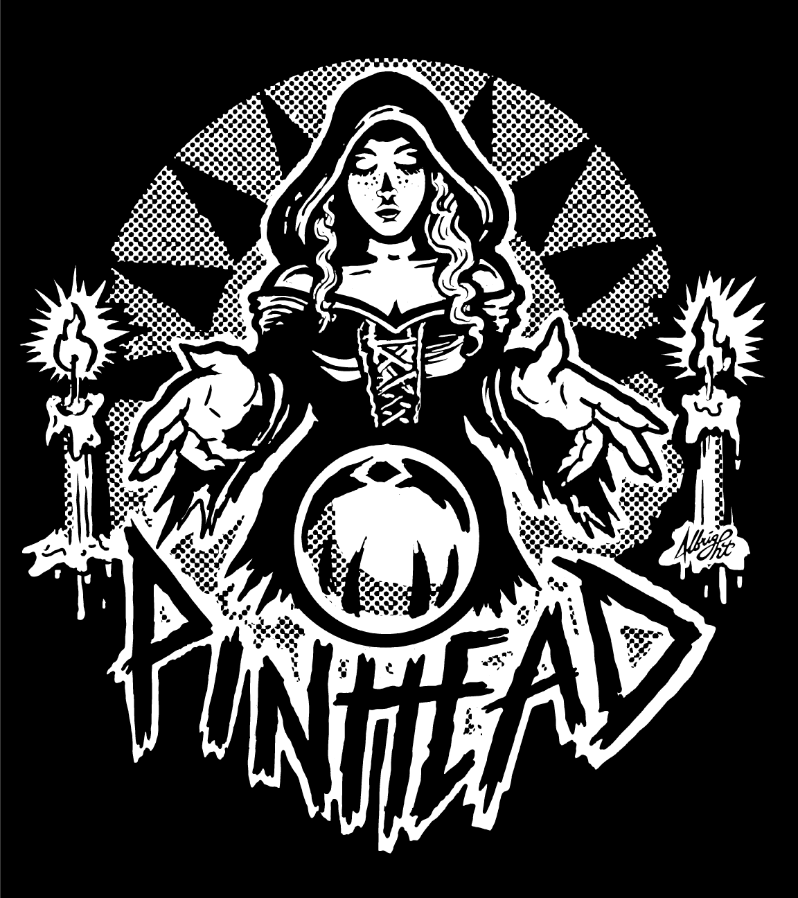 Image of Collection 2 | W.03 | Womens Wafer Pinball Witch Tee