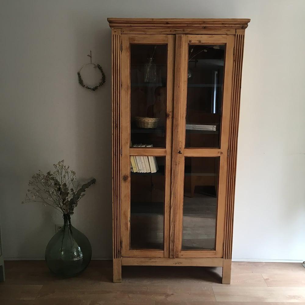 Image of Constance, grande armoire / bibliothèque vitrée