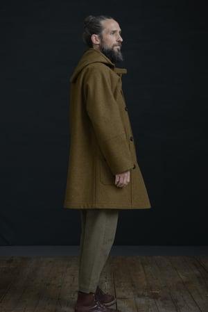 Image of THE NEW FISHERMAN COAT - Tan Brown £430.00