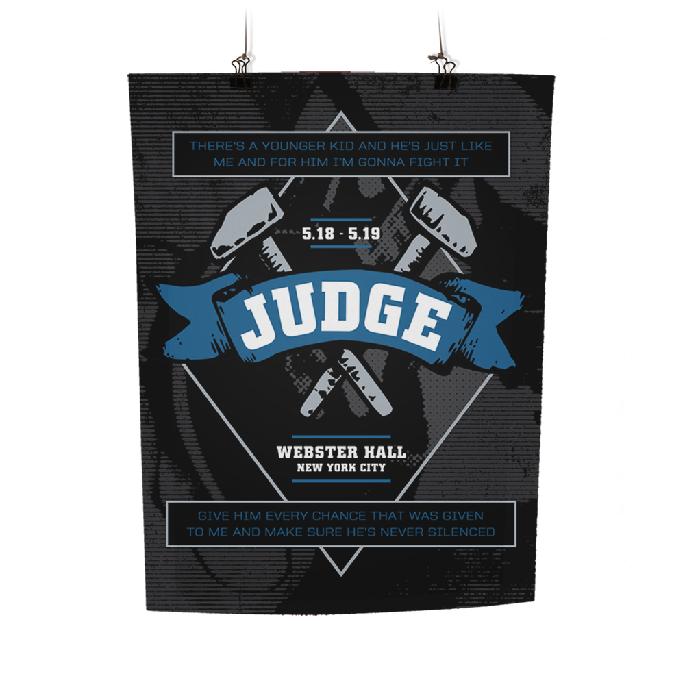 Image of JUDGE Print