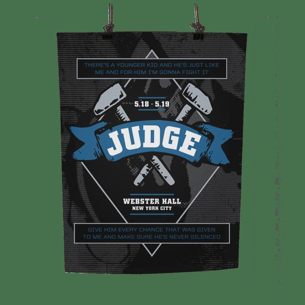 Image of JUDGE Print