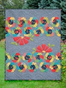 Image of Hexi Cabin Quilt Kit