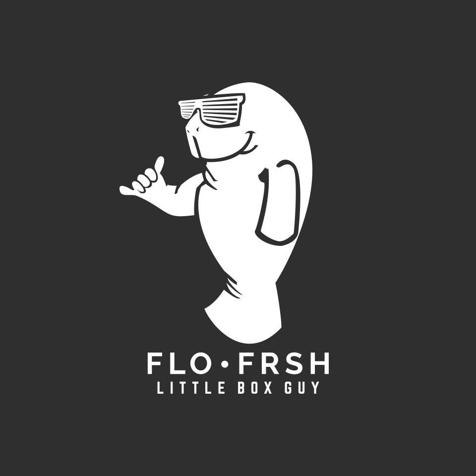 Manatee Chill Out Man Funny Vinyl Sticker