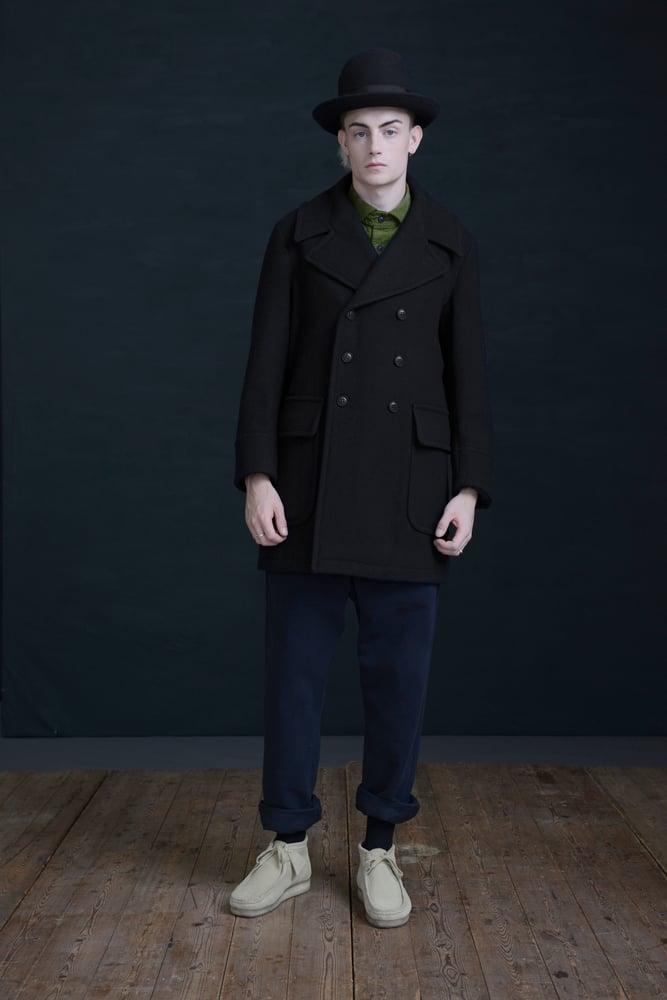 Image of BILL SYKES COAT- BLACK