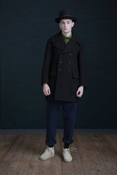 Image of BILL SYKES COAT - BLACK