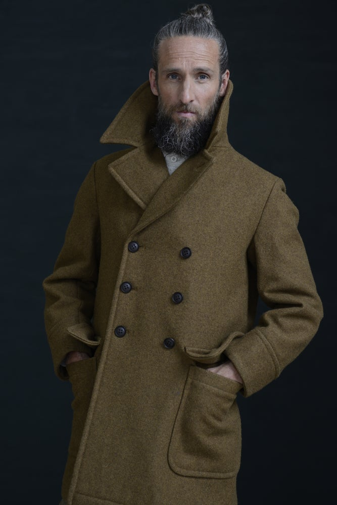 Image of BILL SYKES COAT - TAN BROWN £430.00
