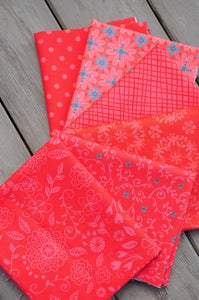 Image of Wildflower Boutique Reds Fat Quarter Pack
