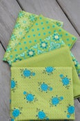 Image of Wildflower Boutique Green Fat Quarter Pack