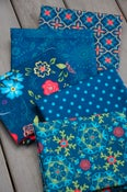 Image of Wildflower Boutique Navy Fat Quarter Pack