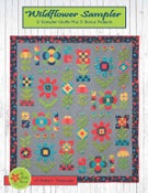 Image of Wildflower Sampler Quilt Partial Kit