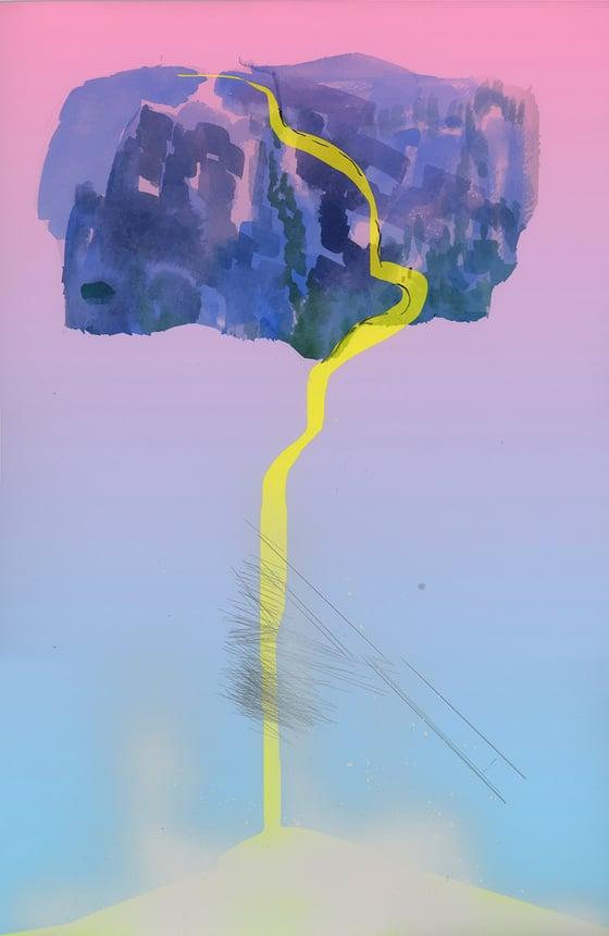 Image of Yellow Waterfall