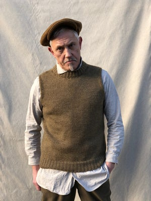 Image of WELSH FISHERMAN SLEEVELESS £135.00