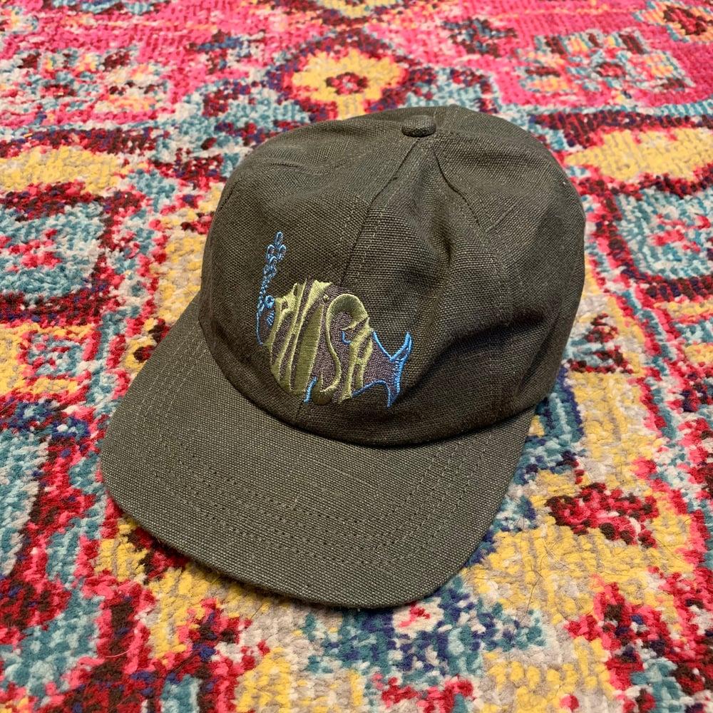 Image of Phish Original Vintage 1990's Hemp Hat! Brand NEW!  - Green