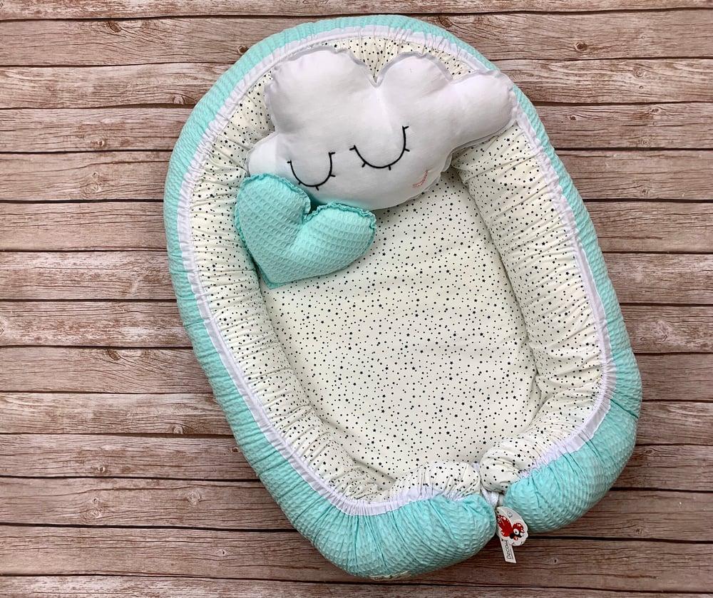 Image of Baby cuco/nest Turquesa