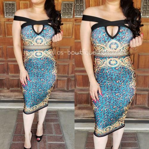 Image of Athena Goddess Bandage Dress