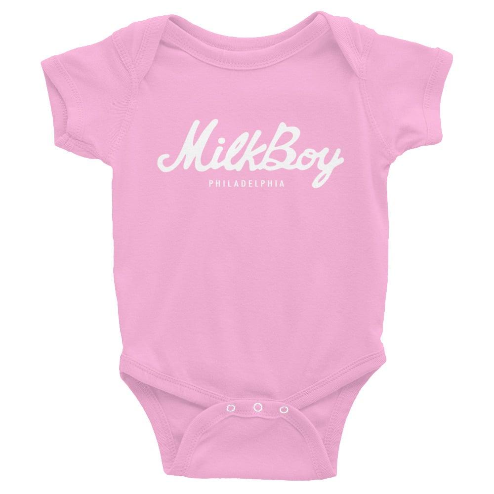 Image of MilkBoy Baby Onesie Pink