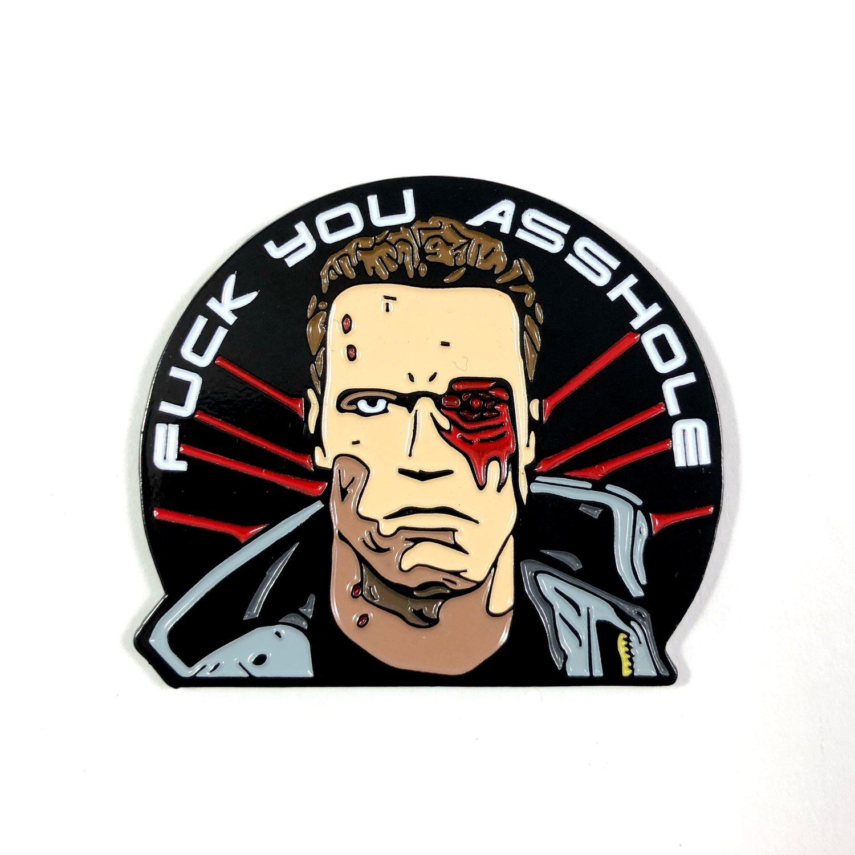 Image of Terminator T-800 (Enamel Pin)