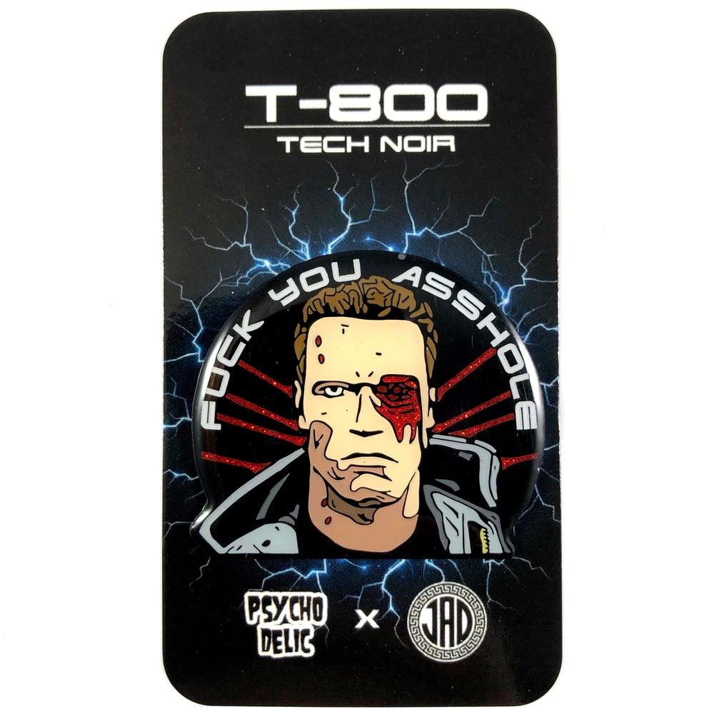 Terminator T-800 GLITTER (Enamel Pin)