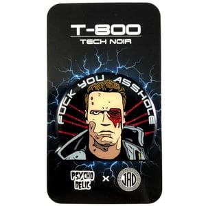 Image of Terminator T-800 GLITTER (Enamel Pin)