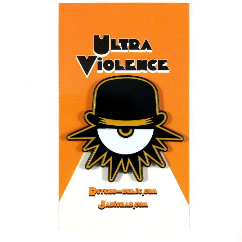 Image of Ultra Violence 2.0 (Enamel Pin)